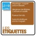 OPTION ETIQUETTES - 12 mois